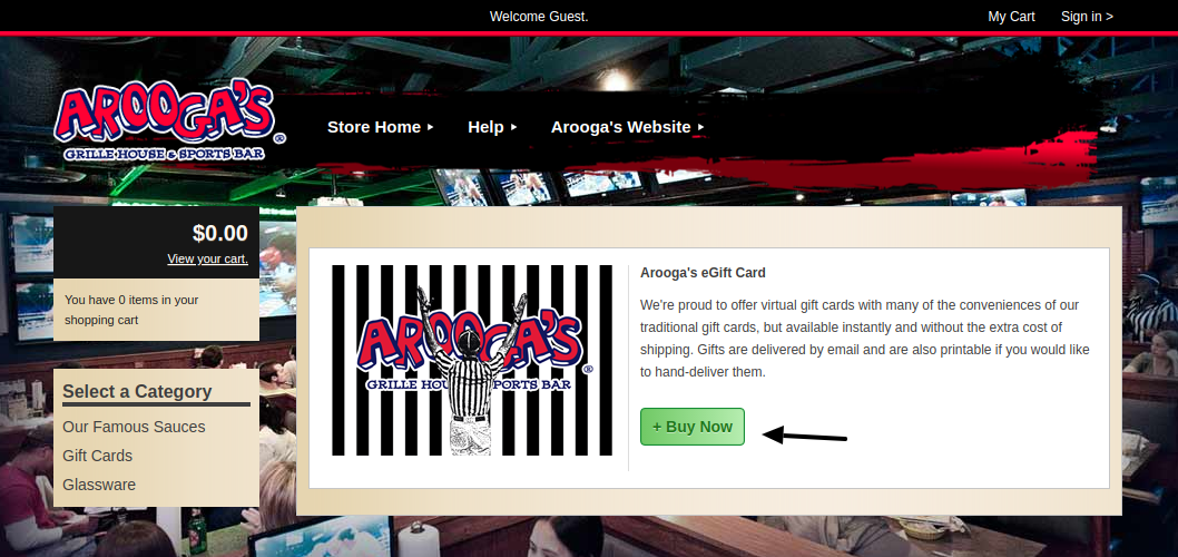Aroogas Gift Cards Buy