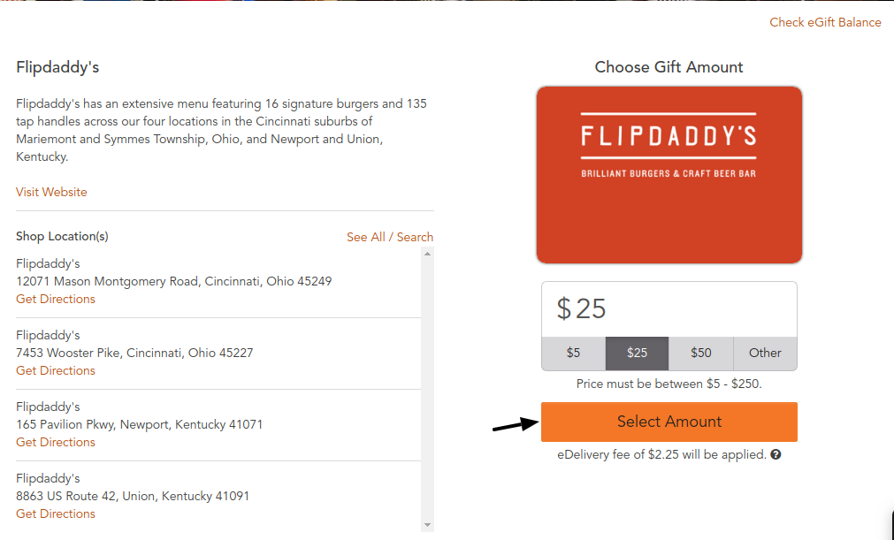 Flipdaddy s E-Gift Cards
